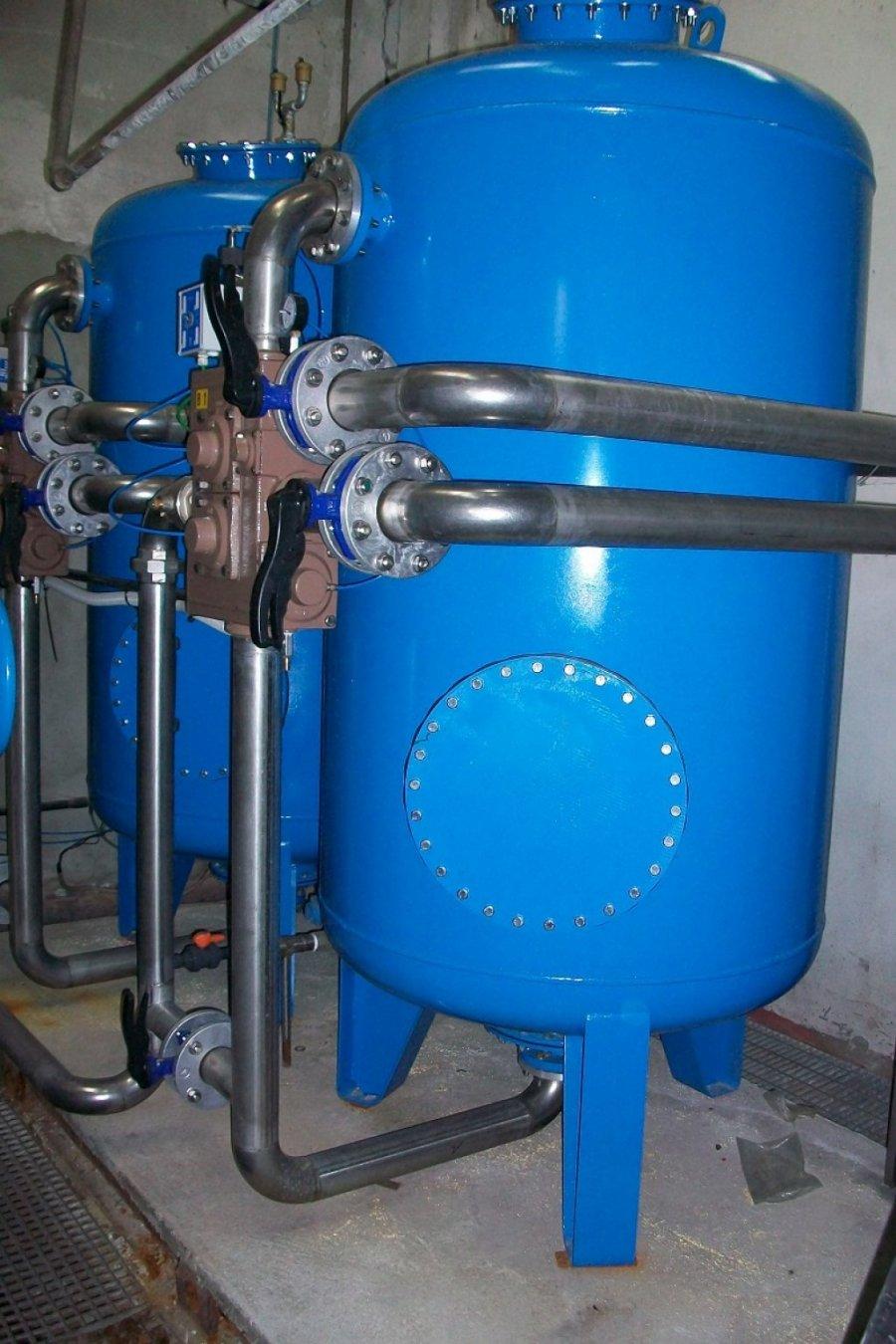 Impianto di addolcimento acque
